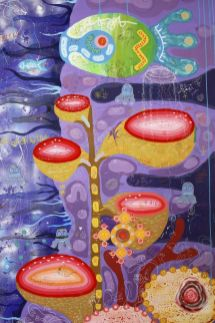 Yann Dumoget, Peintures partagées - Cinquième session de graffitage du 6 au 10 décembre , Foire d'art contemporain de Montpellier