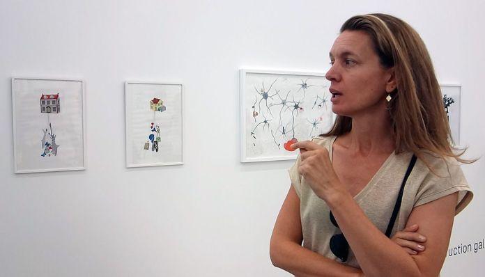 Drawing room 018 à La Panacée - Montpellier - Under Construction Gallery - Jeanne Susplugas