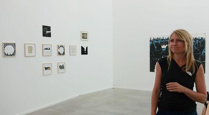 Drawing room 018 à La Panacée - Montpellier - Galerie La Ferronnerie - Natasja Van Kampen
