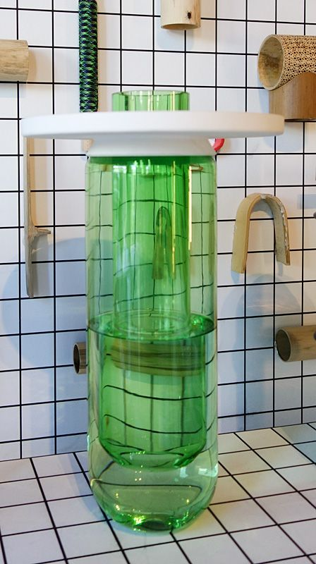 Samy Rio - collection «Vases Composés» - Esthétiques totémiques chez Archik à Marseille