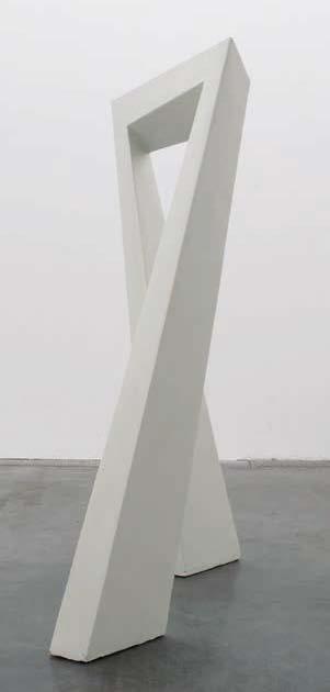 Tjeerd Alkema, Autre porte, Ruban de Moebius coupé et anamorphosé, 1994 - 2009