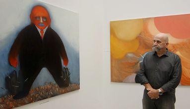 Nedko Solakov - Paintings with No Texts and Stories on Walls à La Panacée - vue de l'exposition