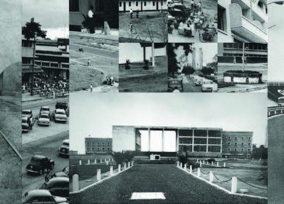 Photomontage de documents d'archive