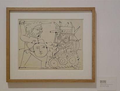 Picasso - Guerre et Paix, 5 octobre 1951