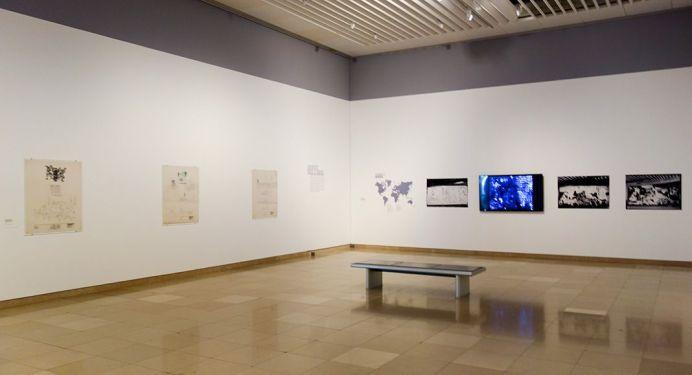 Picasso - Le temps des conflits - Carré d'Art - Nîmes - Vue de l'exposition - Salle 1