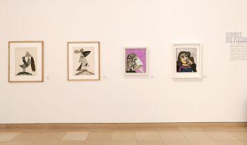 Picasso - Le temps des conflits - Carré d'Art - Nîmes - Vue de l'exposition - Salle 2