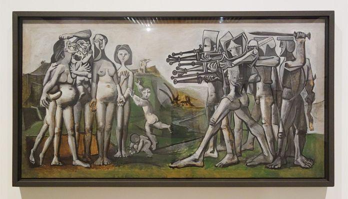 Picasso - Massacre en Corée, 18 janvier 1951