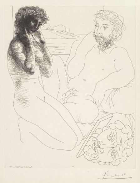 Picasso - Suite Vollard au musée Fabre