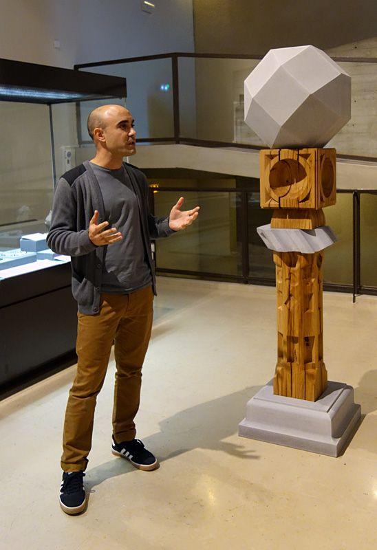 Raphaël Zarka présente Mount Melville, 2018 - Spolium Site archéologique Lattara – musée Henri Prades