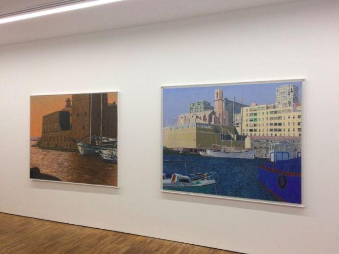 Vincent Bioulès - Marseille à nouveau… à la galerie Béa-ba – Vue de l'exposition 2018