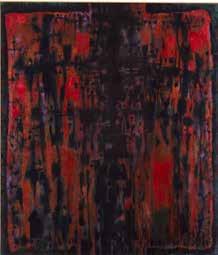Alfred Manessier Passion selon saint Matthieu 1986 Peinture à l'huile sur toile 230 x 200cm Musée des beaux-arts de Sion, Suisse © ADAGP, Paris2018
