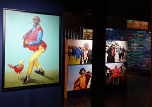 Amani Bodo - Sapeur kitendi (2017) et Yves Sambu - Vanité apparente (2012) - Kinshasa Chroniques au MIAM - Sète