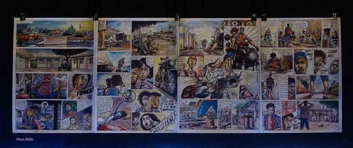 Collectif Lamuka - Hervé Boliki, Affaire wewa (2018) - Kinshasa Chroniques au MIAM - Sète