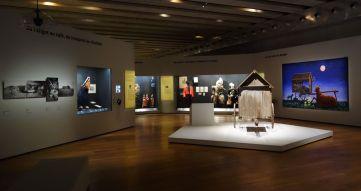 Georges Henri Rivière Voir, c'est comprendre au Mucem - Établir et loger les arts et traditions popluaires - Vue de l'exposition