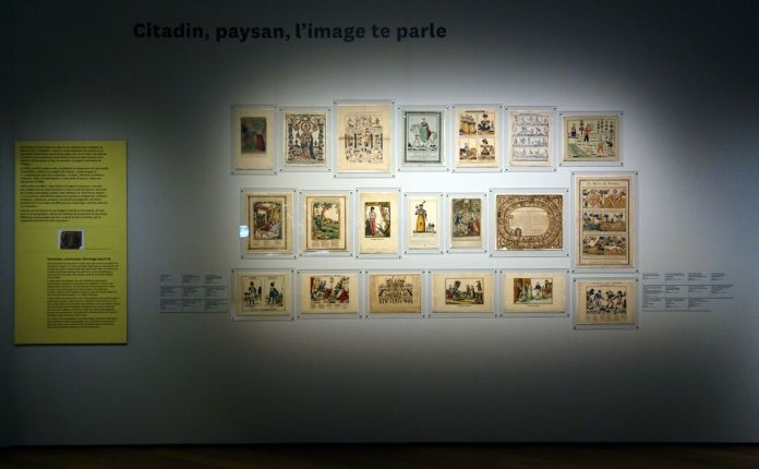 Georges Henri Rivière Voir, c'est comprendre au Mucem - Citadin, paysan, l'image te parle - Vue de l'exposition