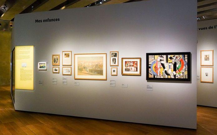Georges Henri Rivière Voir, c'est comprendre au Mucem - Mes enfances - Vue de l'exposition