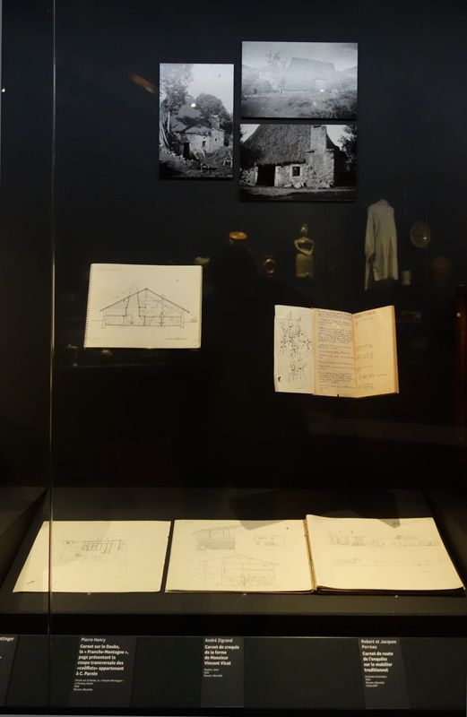 Georges Henri Rivière Voir, c'est comprendre au Mucem - Un bel enjeu patrimoines en péril - Vue de l'exposition