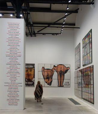 Gilbert & George, The Great Exhibition, 1971-2016 - Luma Arles - Vue de l'exposition à la Mécanique Générale 09