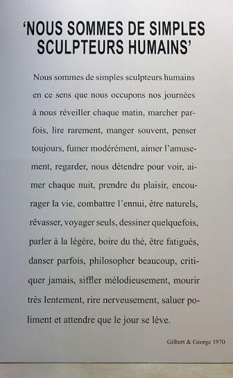 Gilbert & George, The Great Exhibition, 1971-2016 - Luma Arles - Vue de l'exposition à la Mécanique Générale 10