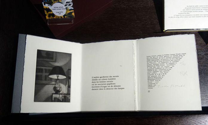 Intimes retraits, Fréderic Jacques Temple - Exposition Verdigris- le noir en filigrane au musée Médard Lunel