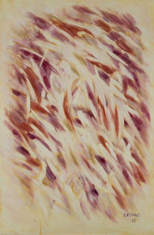Jean Bazaine Chant de l'aubeII 1985 Huile sur toile 146 x 97cm Coll. part., Suisse © ADAGP, Paris2018