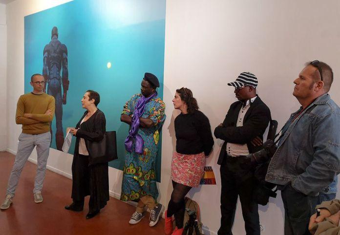Kinshasa Chroniques au MIAM - Sète - Les commissaires de l'exposition