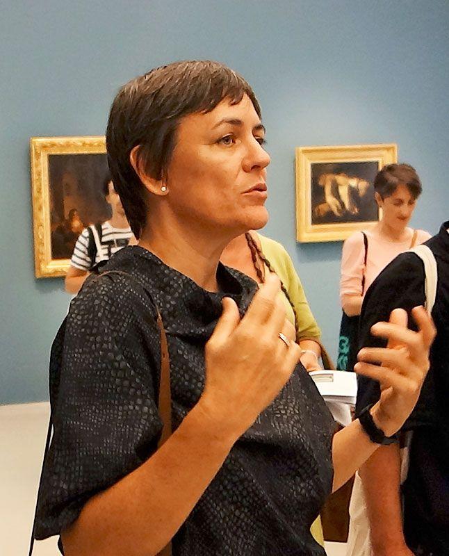 DD Dorvillier dans la Salle 32 - Delacroix et l'Orientalisme au Musée Fabre