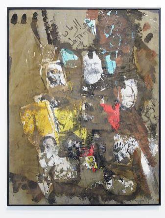 Kacimi 1993-2003, une transition africaine au Mucem - Sans titre, 1993 - La Grotte des temps futurs