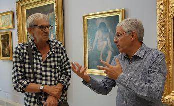 Le rêve de la fileuse - trois collections en dialogue au Musée Fabre - Tjeerd Alkema et Emmauel Latreille