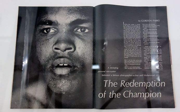 Picture Industry - Luma Arles - Deuxième partie - Gordon Parks, The Redemption of the Champion, Life, 1968