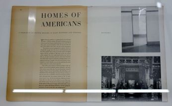 Picture Industry - Luma Arles - Deuxième partie - Walker Evans, Homes of Americans, Fortune, avril 1946