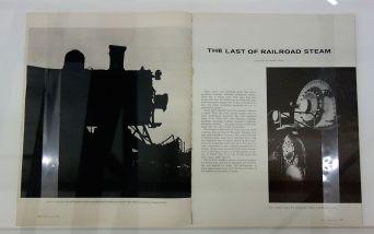 Picture Industry - Luma Arles - Deuxième partie - Walker Evans, The Last of the Railroad Steam, Fortune, Spetembre 1958