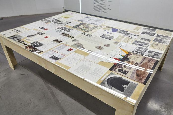 Une histoire de la collection du Fonds régional d'art contemporain - Archives et documents au FRAC PACA Photo © JL Lett