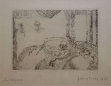 James Ensor, La luxure, 1888 - James Ensor et Alexander Kluge - Siècles noirs à la Fondation Van Gogh Arles