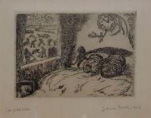 James Ensor, La paresse, 1902 - James Ensor et Alexander Kluge - Siècles noirs à la Fondation Van Gogh Arles