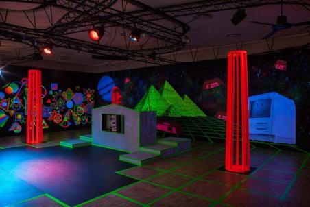 Tony Regazzoni - Boîte de nuit, 2017 - Studio 13/16 - Centre Pompidou © Diane Arques, 2018 - Adagp 2019