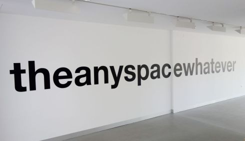 Liam Gillick - The anu space whatever, 2004 « Distance intime. Chefs-d'œuvre de la collection Ishikawa » au MO.CO. Montpellier Contemporain - Hôtel des Collections à #Montpellier. Photo En revenant de l'expo !