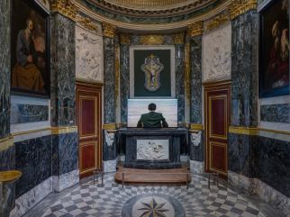 Sophie Calle - Cinq au Château Borély - Musée des Arts décoratifs, de la faïence et de la mode - Photo © Florian Kleinefenn
