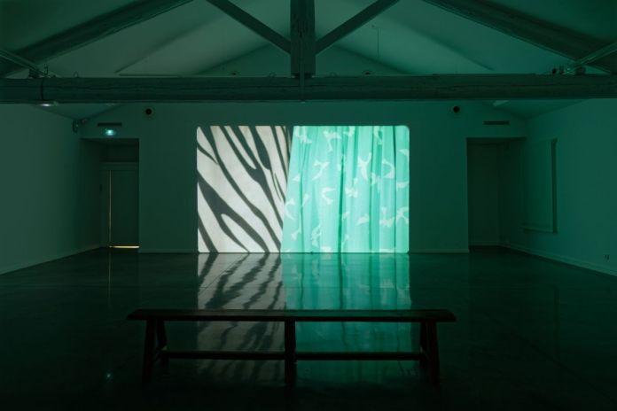 Ulla von Brandenburg « L'hier de demain », vue de l'exposition au Mrac, Sérignan, 2019. Photographie Aurélien Mole