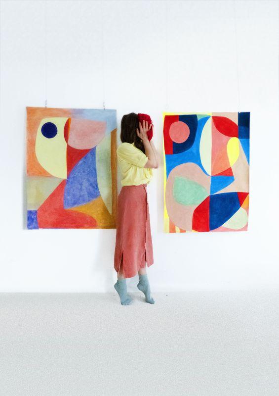 Caroline Denervaud à la Double V Gallery - Marseille