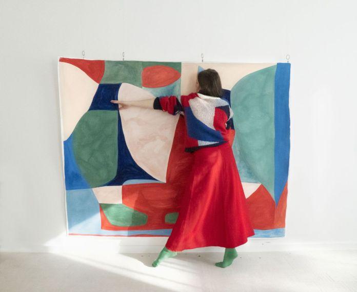 Caroline Denervaud à la Double V Gallery