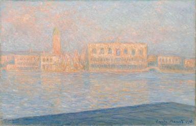 Claude Monet (1834-1917), Le Palais ducal vu de Saint-Georges-Majeur, 1908, huile sur toile, 65,4 x 100,6 cm Solomon R. Guggenheim Museum, New York, Thannhauser Collection, legs Hilde Thannhauser, 91.3910