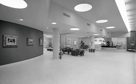 Exposition «Masterpieces of Modern Art by courtesy of the Thannhauser Foundation», aile Thannhauser, Solomon R. Guggenheim Museum, New York, 30 avril - 3 octobre 1965 © Solomon R. Guggenheim Foundation, New York