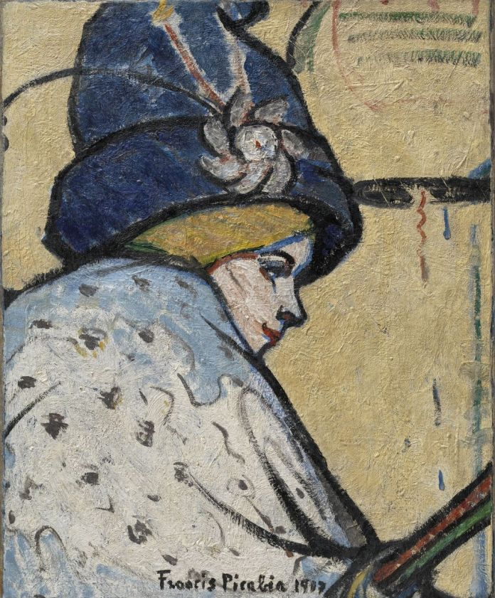 Francis Picabia (1879-1953), Portrait de Mistinguett, vers 1908-1911, huile sur toile, 60 x 49,2 cm Solomon R. Guggenheim Museum, New York, 66.1801 © Adagp, Paris, 2019