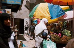 Mahmoud Darwich,Ramallah - 2009 © Ernest Pignon-Ernest