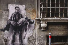 Pasolini Rome 2015 © Ernest Pignon-Ernest