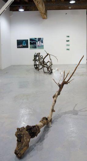 Sud magnétique - Vidéochroniques - Vue de l'exposition - grande salle - Photo En revenant de l'expo !