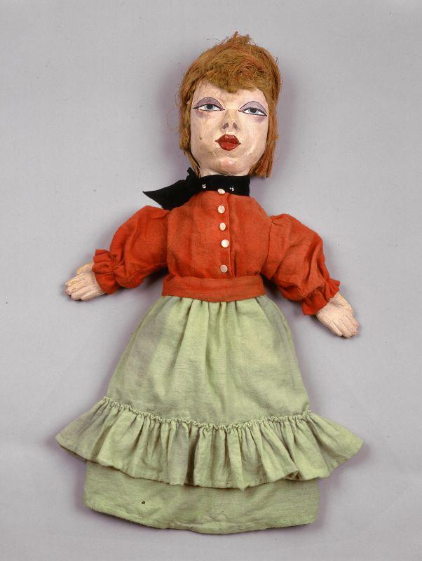 Jean Dubuffet, Lili, marionnette à gaine, 1936, 66cm. Collection Fondation Dubuffet, Paris © Fondation Dubuffet, Paris © Adagp, Paris2019