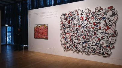 Jean Dubuffet - Un barbare en Europe au Mucem - 1 - Célébration de l'homme du commun - Des sites grouillants de vie