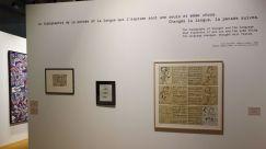 Jean Dubuffet - Un barbare en Europe au Mucem - 1 - Critique de la culture - Affoler la langue